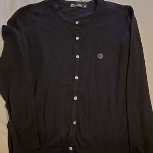 NY&C Black Cardigan NWT sz XL Cotton Blend